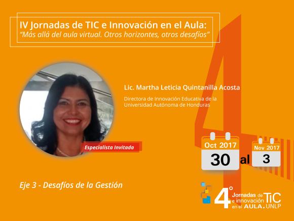 Lic. Martha Leticia Quintanilla Acosta